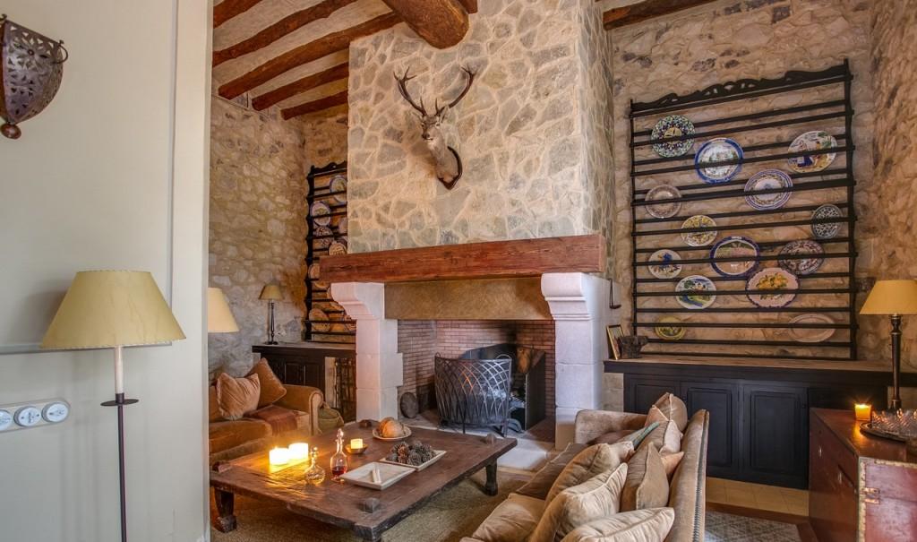 Interiorismo casa campo en alicante sg inmuebles - Chimeneas de campo ...