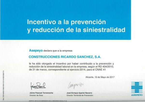 incentivo-prevencion-reduccion-sinistralidad-2014